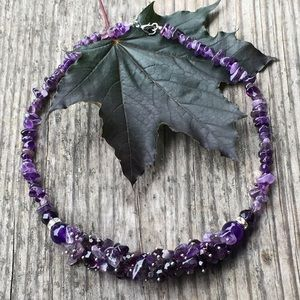 Jewelry - Brand new Amethyst necklace.